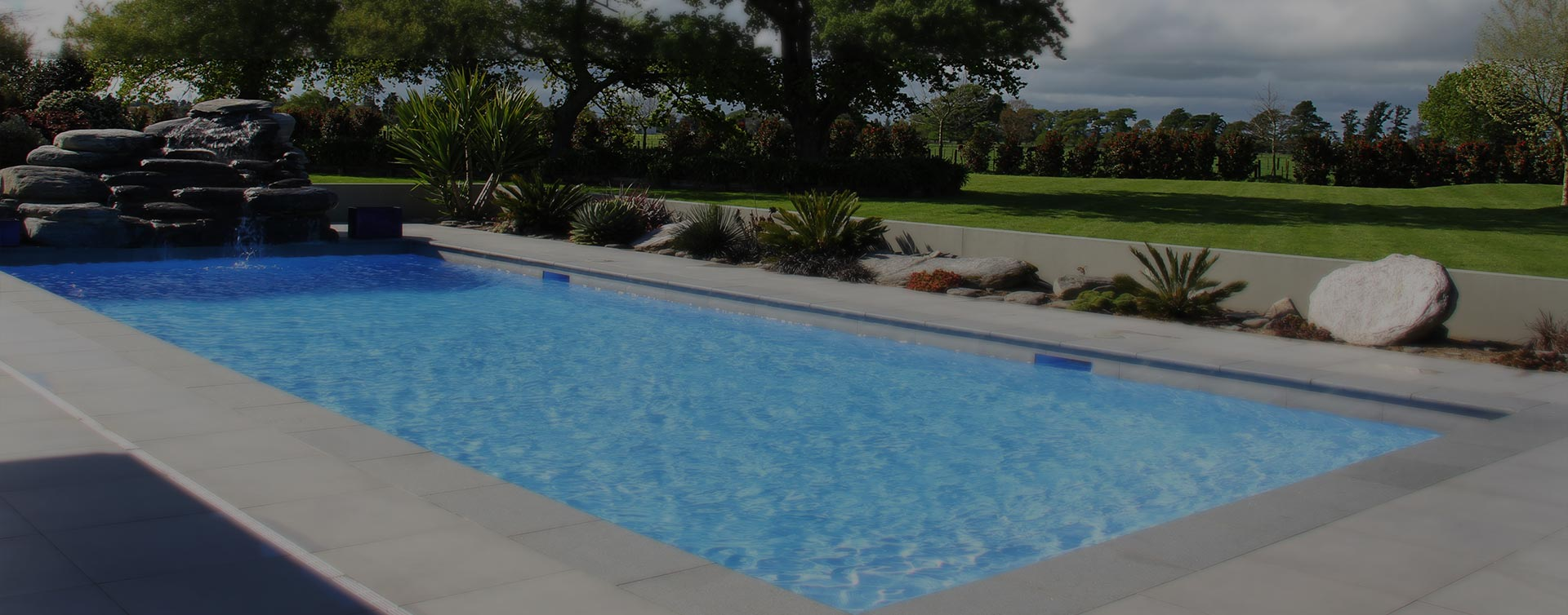 Hamilton pool installation in ground pools and landscaping for Pool design hamilton